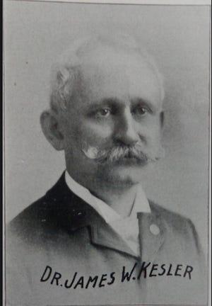 Dr. James W. Kesler (1841-1899)