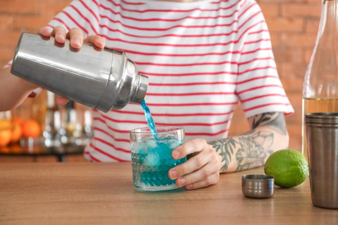 There's been a rise in home bartending since the coronavirus pandemic began.