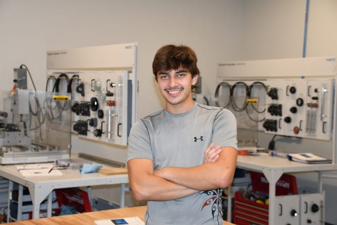 Ethan Mullins, student at Lenoir Community College [CONTRIBUTED PHOTO]