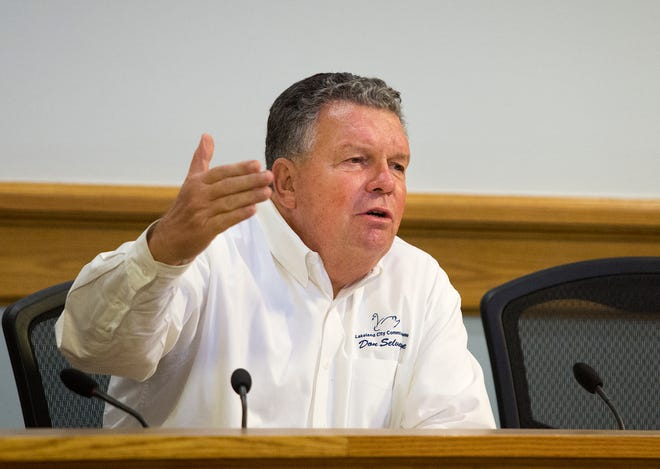 Former Lakeland Commissioner Don Selvage will return to the chamber to serve as interim city commissioner, filling Scott Franklin's seat as of Jan. 4, 2021. He will serve for three months until a special election is held April 6, 2021. [File Photo/The Ledger 2017]