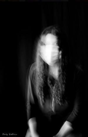 """Katy Walters' photograph """"Unfocused"""" is part of the """"Hindsight 2020: Art of This Moment""""online exhibit presented by the Polk Museum of Art at Florida Southern College."""