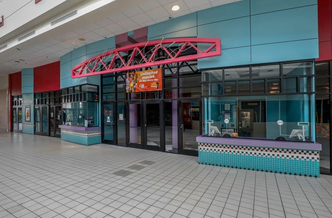 Regal Cinema 12 at the Eagle Ridge Mall in Lake Wales was among 536 theaters owned by parent company Cineworld closed nationwide Monday.