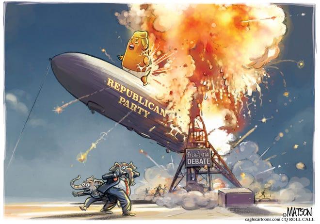 Mike Shannon column cartoon
