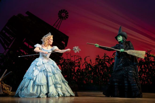 """Wicked,"" which was scheduled for Feb. 3-14 at the Kravis Center, has been postponed to a later date.  Photo by Joan Marcus"