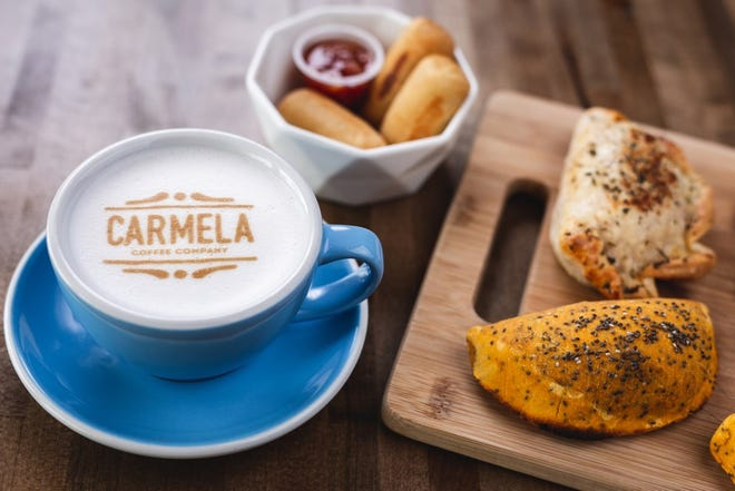Costa Rican coffee and a variety of bites are served at the new Carmela Coffee shop in suburban Delray Beach. [Provided by Carmela Coffee]