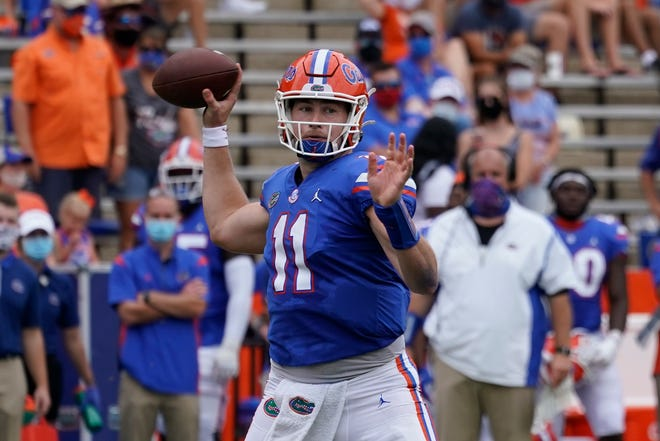 Florida quarterback Kyle Trask returns home to Texas for a game Saturday against the Aggies.