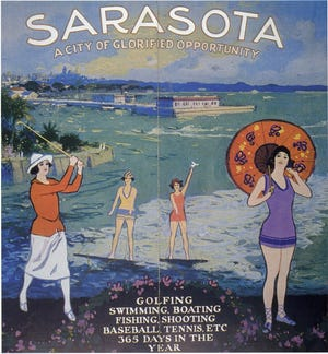 Sarasota City of Glorified Opportunity, ca 1925.