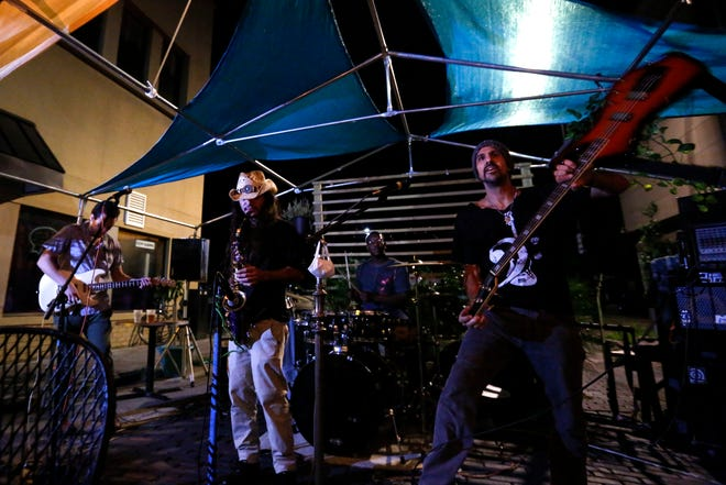 Gainesville band Melting Funk Pot, pictured, will perform with The Funky Miracle on Saturday night at High Dive.
