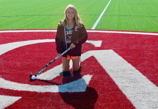 Regan Cornelius is winding down stellar careers in field hockey and cross country with Columbus Academy. The senior, who also competes in track and field, has committed to play field hockey at Northwestern.