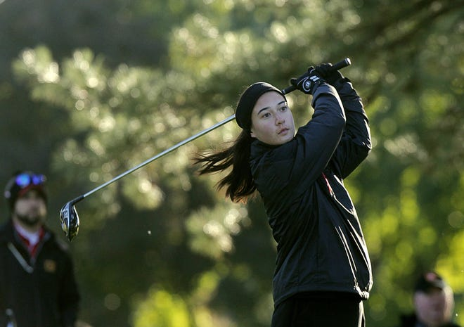 Caroline Kromalic shot 88 to help Columbus School for Girls win a Division II district title Oct. 5 at Darby Creek and advance to state.
