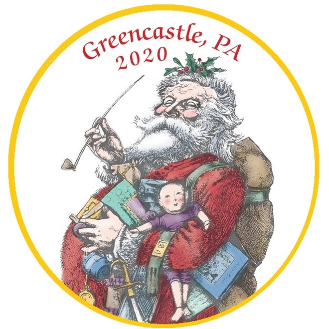 This jolly Santa adorns the 2020 Heritage Christmas ornament.