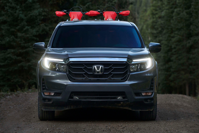 Debut New Honda Ridgeline Pickup Gets Macho Makeover For 2021