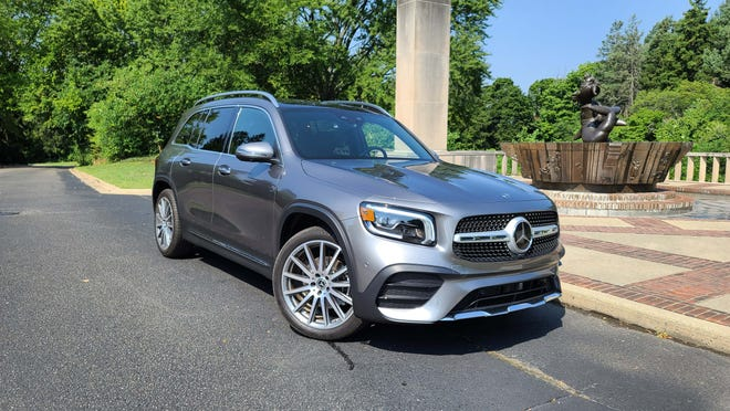 The boxy 2020 Mercedes GLB may not be much to look at it, but it makes it up in utility.