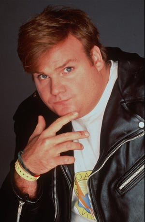 """Actor Chris Farley, who spent four seasons on TV's """"Saturday Night Live'' in the 1990s and starred in several movies, is shown in this undated photo."""