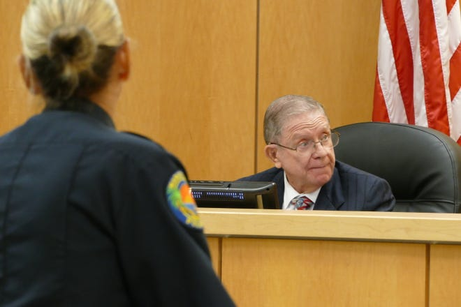 Marco Island City Councilor Victor N. Rios speaks during a council meeting on Oct. 5, 2020.
