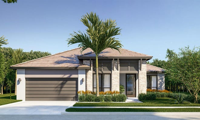 Gulf home design by CC Homes in Maple Ridge  is one of many homes offered at Ave Maria.