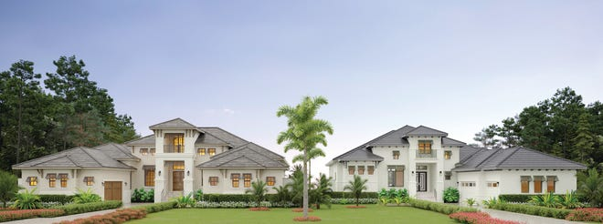 Custom estates Gardenia II and Clairborne II are being constructed in Bonita Bay with a completion date of Spring 2021.