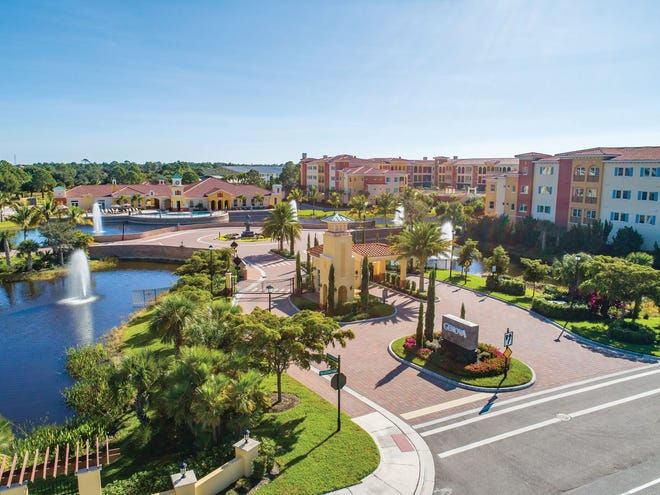 Genova, the new gated, resort-lifestyle condominium community in Estero, affords residents a maintenance-free lifestyle.