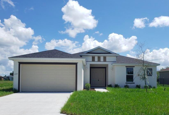 The new Jasmine, a move-in ready home offered at Arrowhead Reserve in Immokalee.