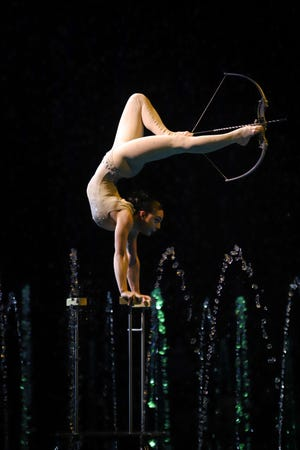 Cirque Italia, a traveling Italian water circus, will open its doors for a show outside Indian Mound Mall in Heath on Oct. 8-11, 2020.