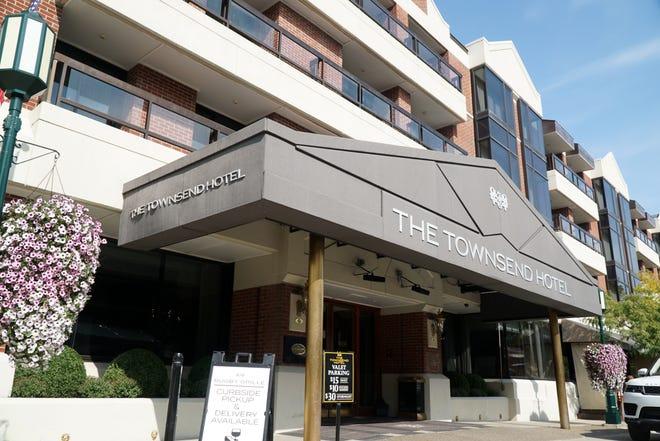 The Townsend Hotel in Birmingham, Michigan.