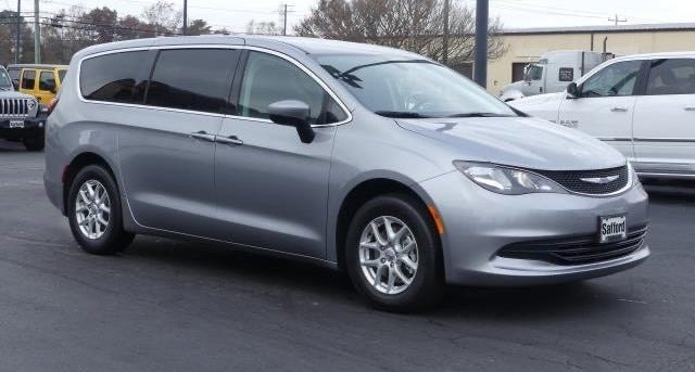 Police say Charles Haeger abandoned a silver 2020 Chrysler Voyager along Interstate 17 near milepost 303 on Oct. 2, 2020.