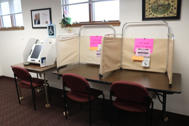 Ottawa County residents can vote early in-person at the local election board offices at 8444 W. Ohio 163 near Oak Harbor, which is open from 8:30 a.m. to 4:30 p.m. Mondays through Fridays.