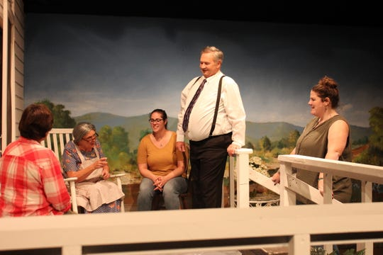 """The Quilt"" is a one-act play currently showing at Stained Glass Theatre in Ozark."
