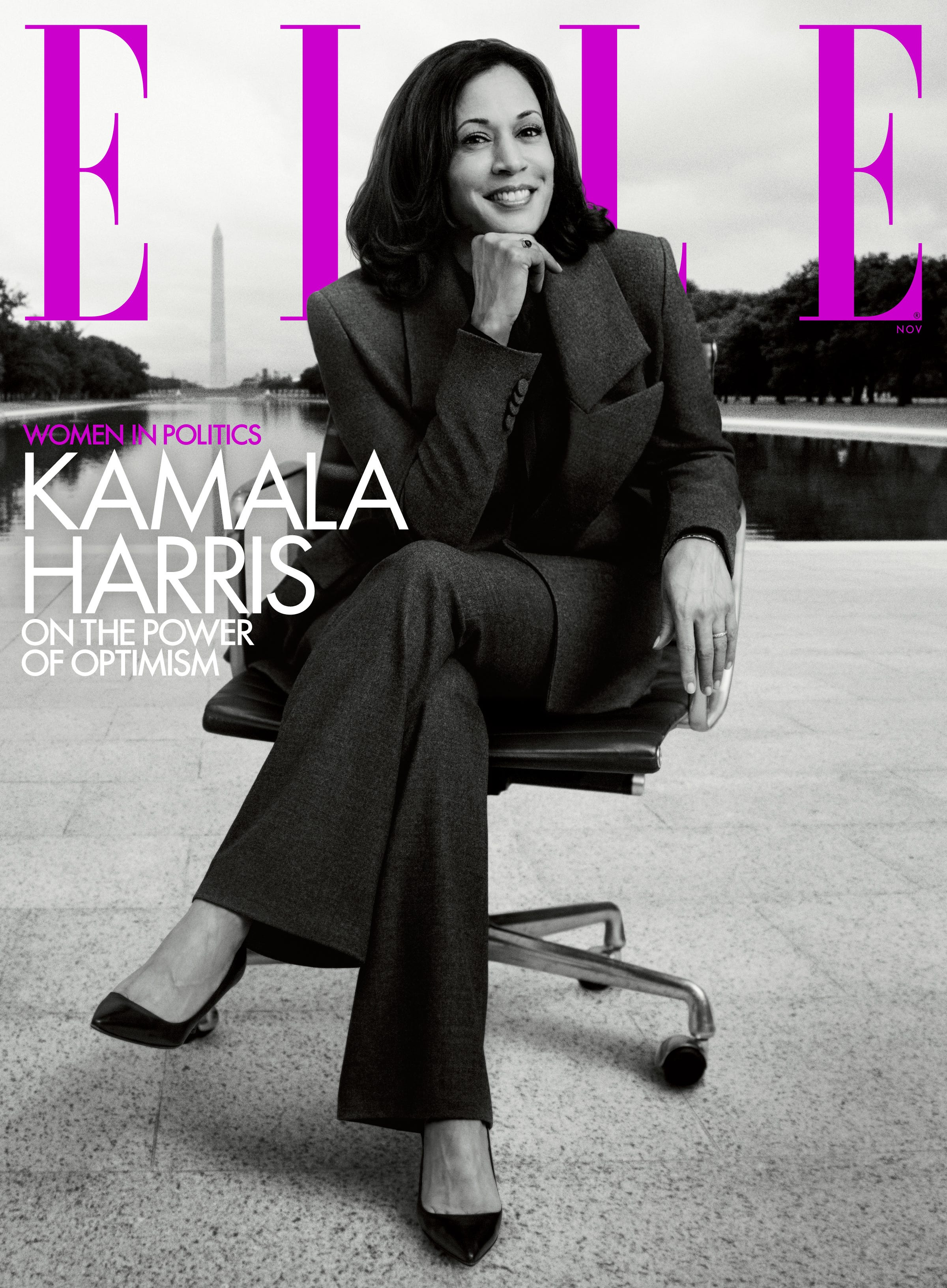 I see you : Kamala Harris covers ELLE, talks fight for justice, hopes for the future