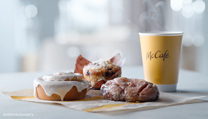 McDonald's menu additions: New blueberry muffin, cinnamon roll and apple fritter arrive at restaurants Oct. 28