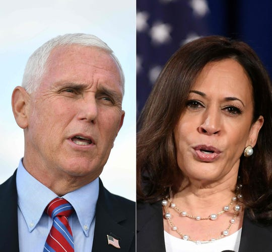Sitting vice president, Mike Pence, will debate Democratic candidate Sen. Kamala Harris Wednesday, Oct. 7, 2020.