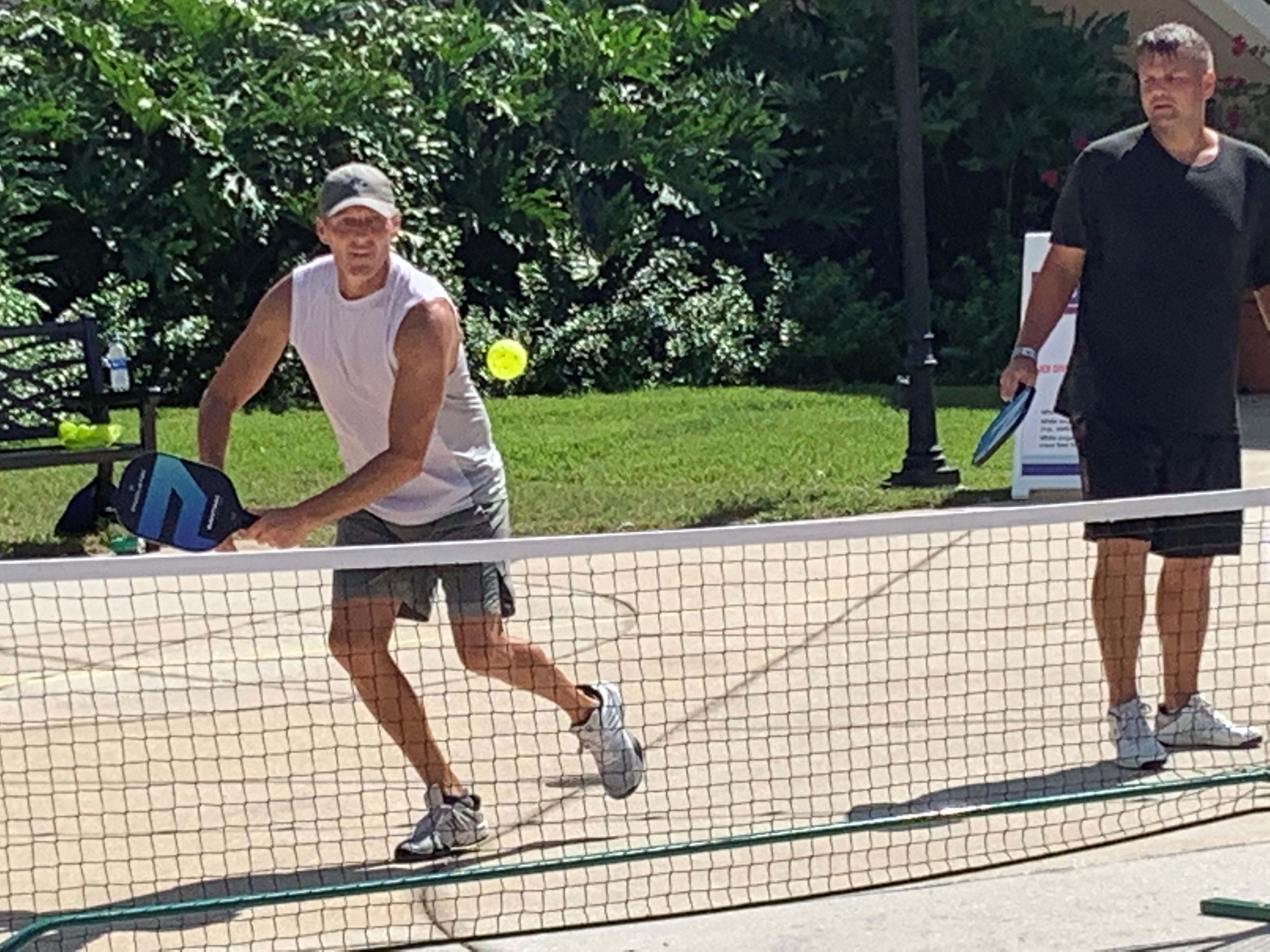 Inside the NBA bubble, pickleball battles have become the stuff of legend