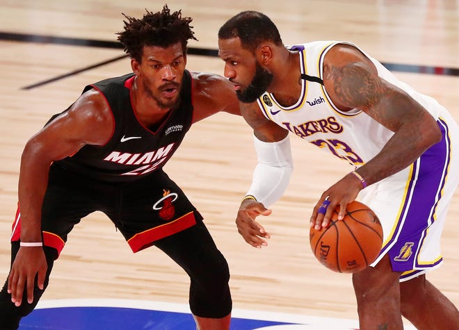 Lakers Heat Can Jimmy Butler Do It Again In Nba Finals