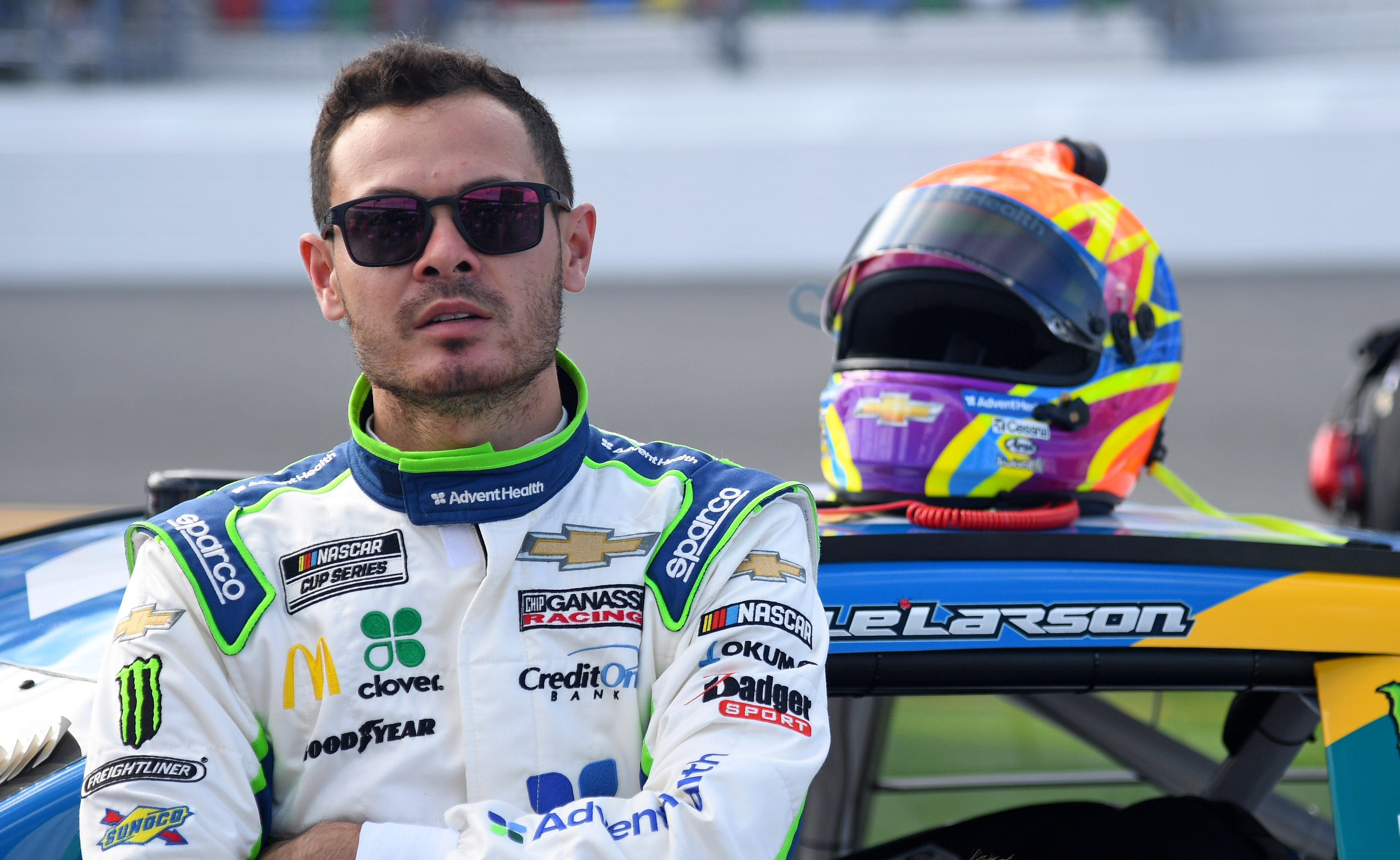 Fired NASCAR driver Kyle Larson works to  educate himself on a Black person s experiences in America