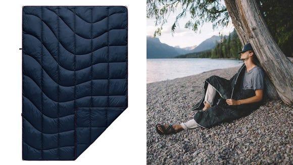 Take this warm blanket wherever you go.