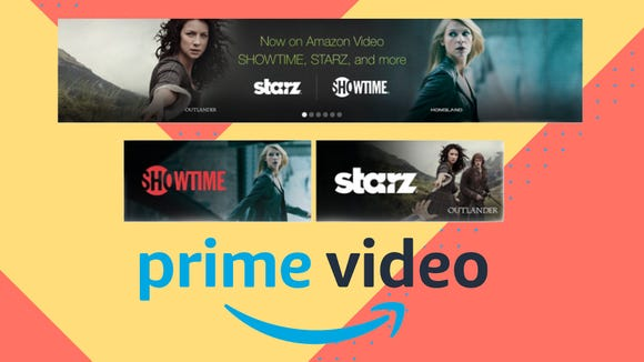 Prime members can get access to Starz and Showtime for just $1 right now.