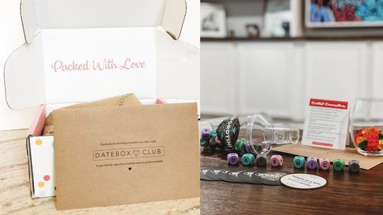 Best Valentine's Day gifts for men: DateBox Club.