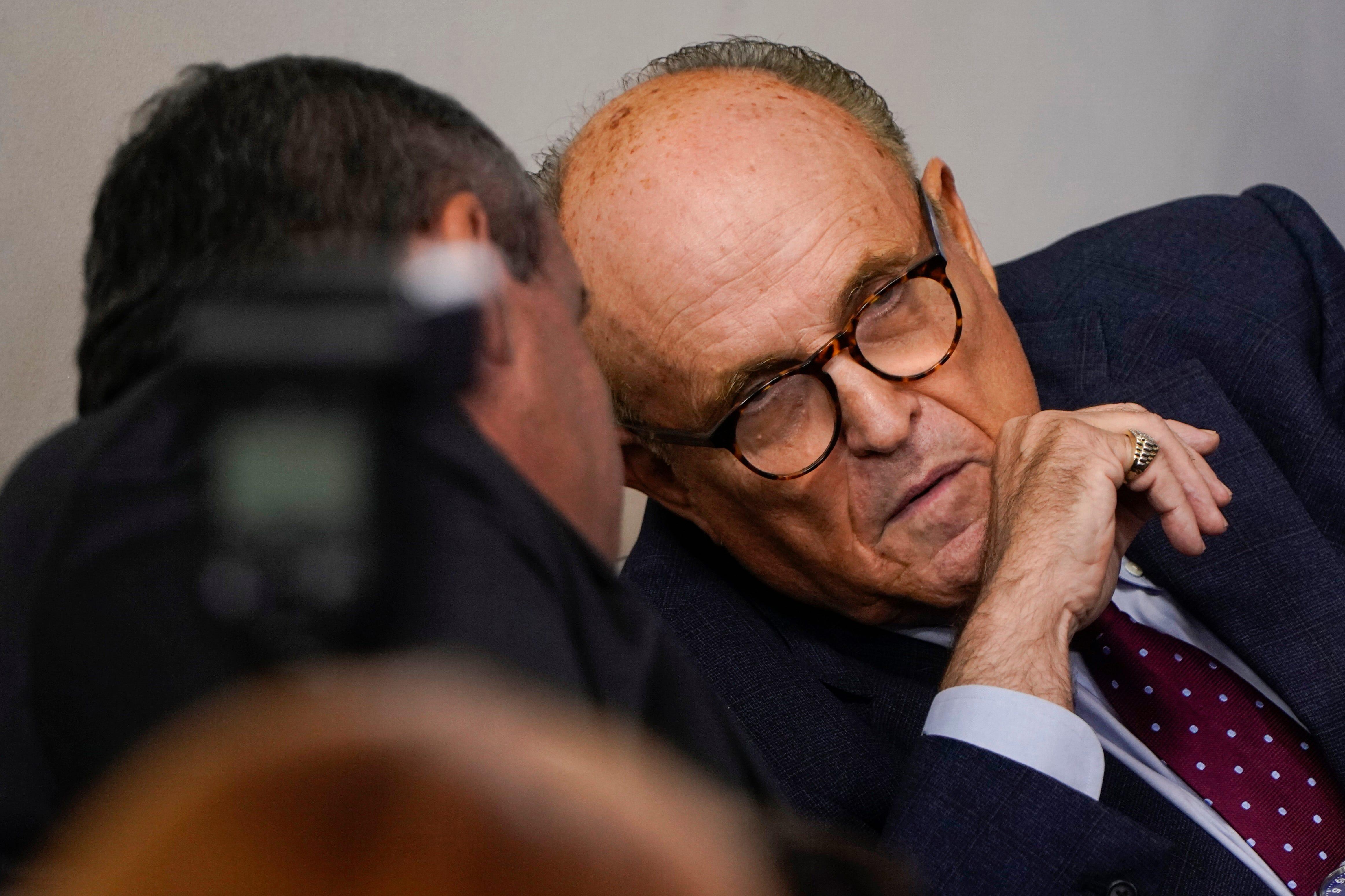 FBI probes possible Russia link in Biden data from Trump ally Giuliani