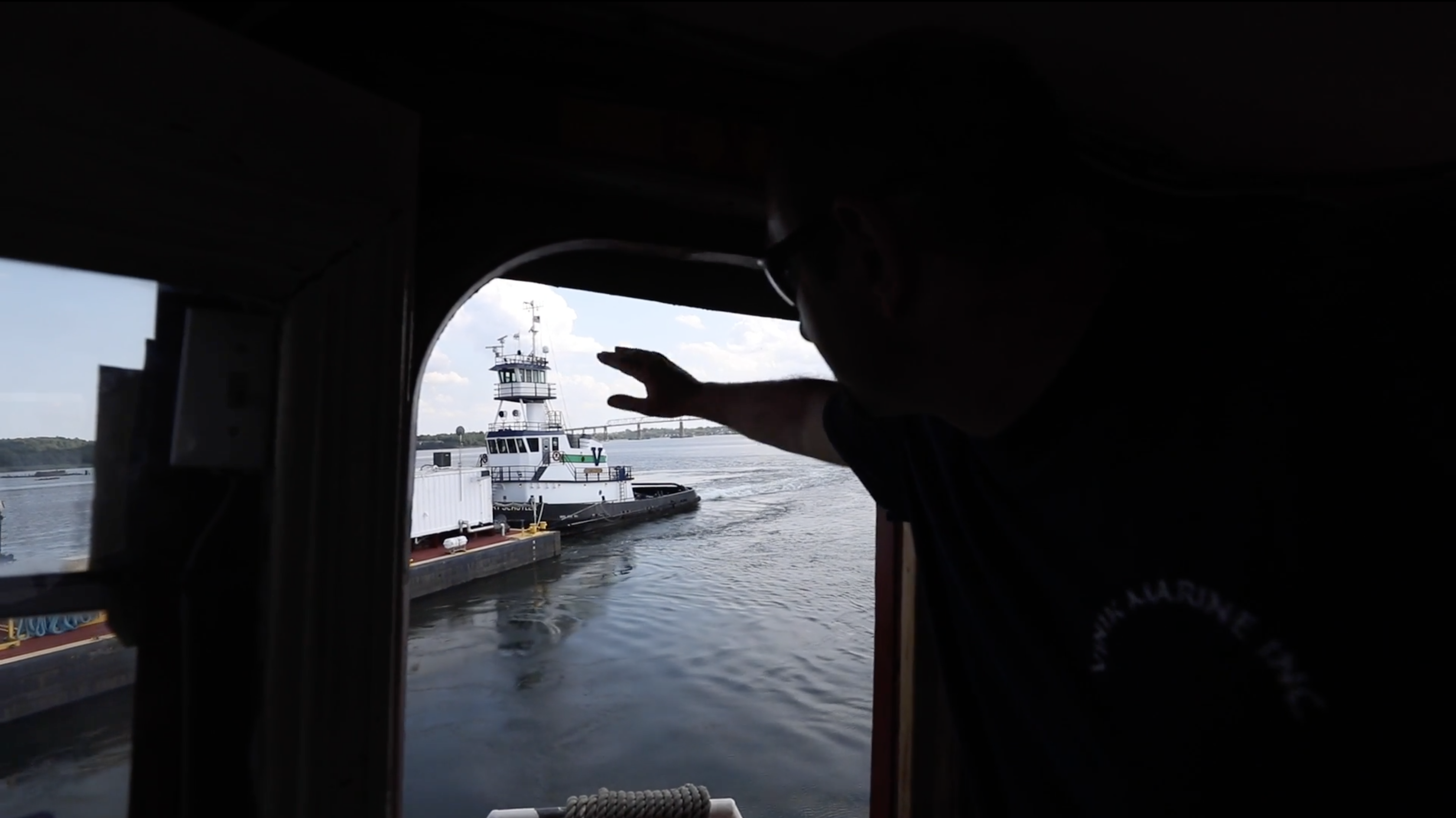 Mike Vinik is a tugboat pilot and the owner and operator of Vinik Marine.