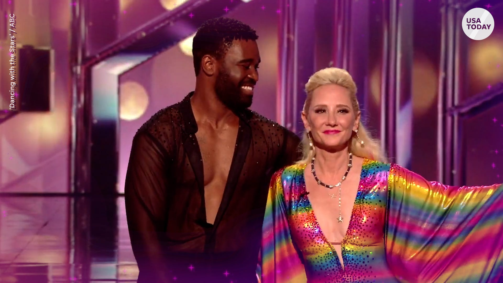 Anne Heche's night on 'Dancing with the Stars' includes Ellen revelation, ballroom mixup