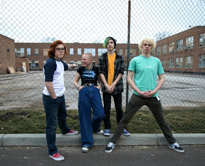 Detention is one of the bands performing at the Akron Recording Company's drive-in concert on Saturday.