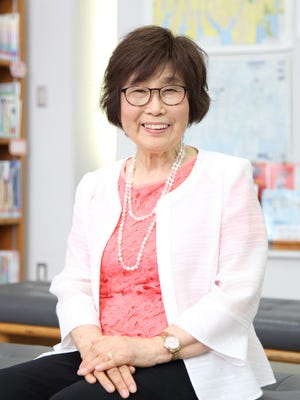 Atomic bomb survivor Keiko Ogura from Hiroshima, Japan will give a virtual presentation on Oct. 19 at 8 p.m.