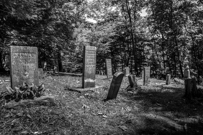 Part of the Landoll Castle ghost walks include a stop at this cemetery on the castle's grounds.