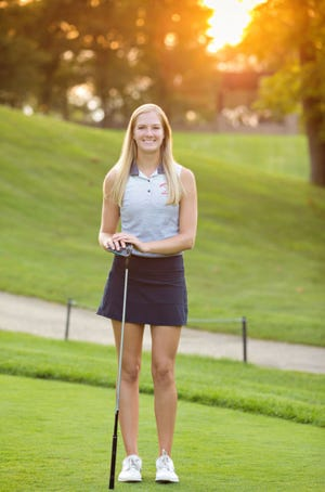 Lizzie Saur, class of 2021 has hopes of going pro.
