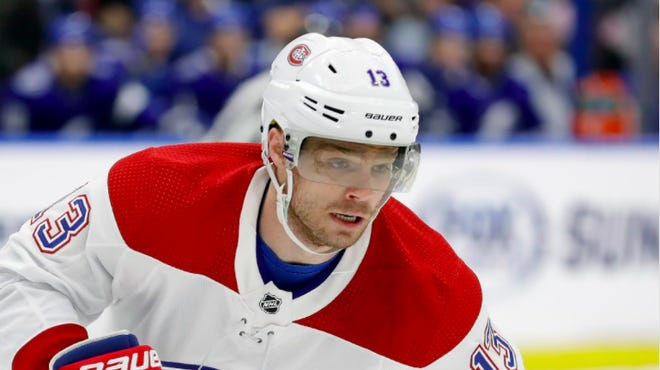 After being traded to the Blue Jackets for his friend Josh Anderson, former Montreal Canadiens center Max Domi looks forward to a fresh start in Columbus. Chris O'Meara/Associated Press