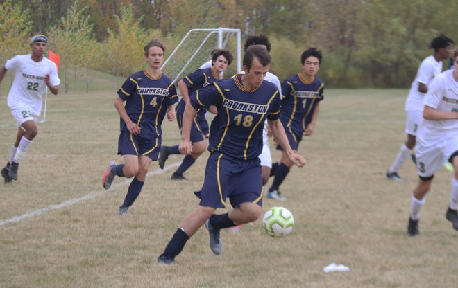 Jack Garmen will be one of the Crookston boys' soccer team's captains in 2021.