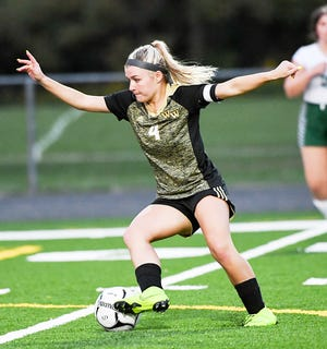 Western Wayne soccer star Cassidy Asinski is now the all-time leading scorer in program history. She recently passed Charlcie Brink and now boasts a career total of 89 goals.