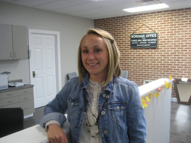 Lorraine Hohl will leave her post as Greencastle's borough manager later this month.