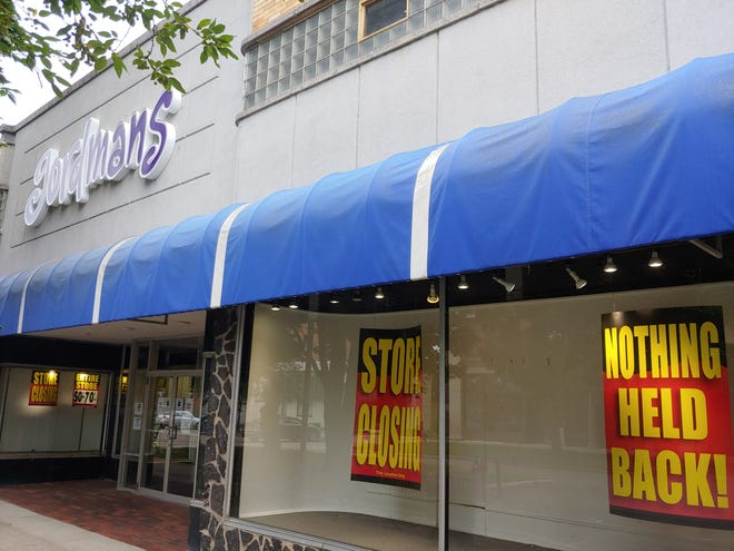 The Hornell Gordmans has been winding down operations with a store closing sale that recently concluded.