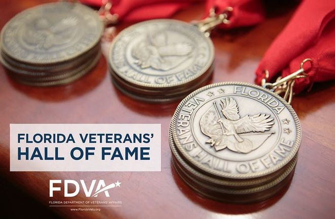 Four Jacksonville-area residents were named to the Florida Veterans' Hall of Fame Class of 2020.